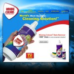 Winning Colours Stain Remover will soon have its own dedicated website.  Currently, WinningColours.com directs to WinningBrands.com