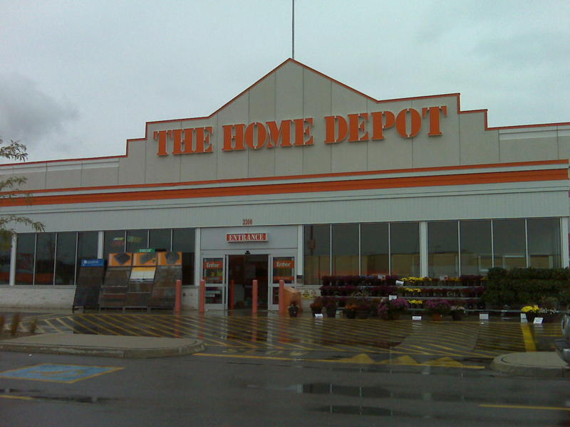 Home depot canada stores products for Shop home depot