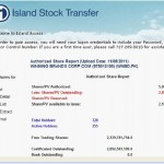 Picture - Island Stock Transfer November 8 2011