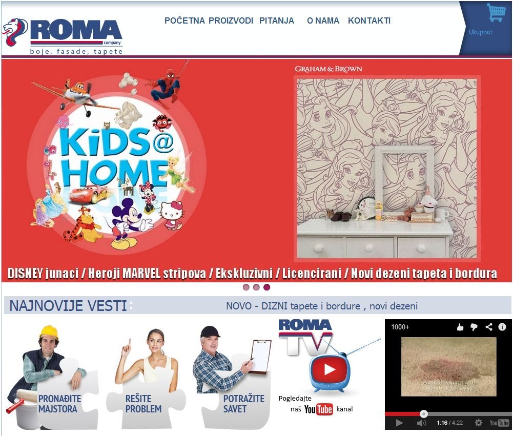 Picture - ROMA Website