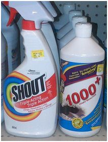 Picture - 1000+ Stain Remover beside Shout at Retail