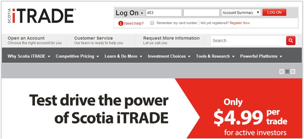 Picture - Scotia iTrade